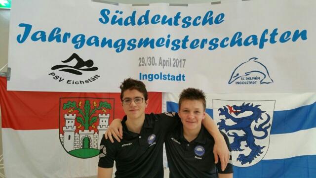 Ludwig Freutsmiedl und Daniel Siminenko