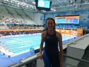Andrea Horn bei Masters-WM in Budapest