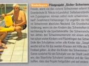 """Grundschule St. Nikola startet zusammen mit dem SC 53 das Pilotprojekt """"Sicher Schwimmen"""""""